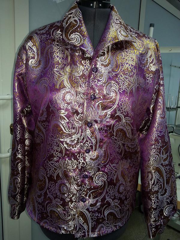 Рубашка своротом «Апаш» от Eva357