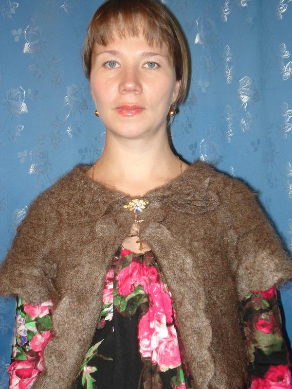 Болеро избабушкиной шали от Елена888