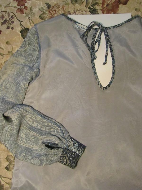 Васильковое платье от Татти