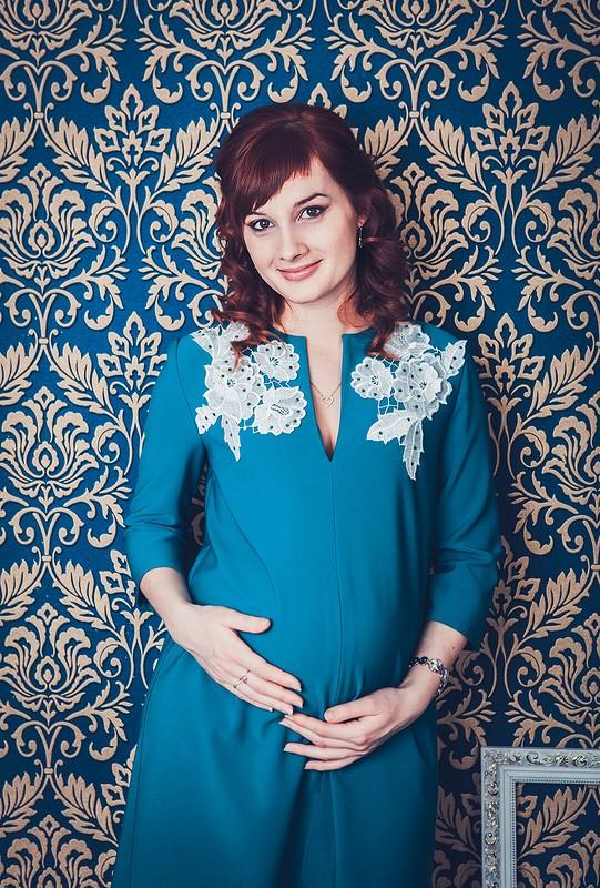 Мой вариант платья длябеременных от Gallia