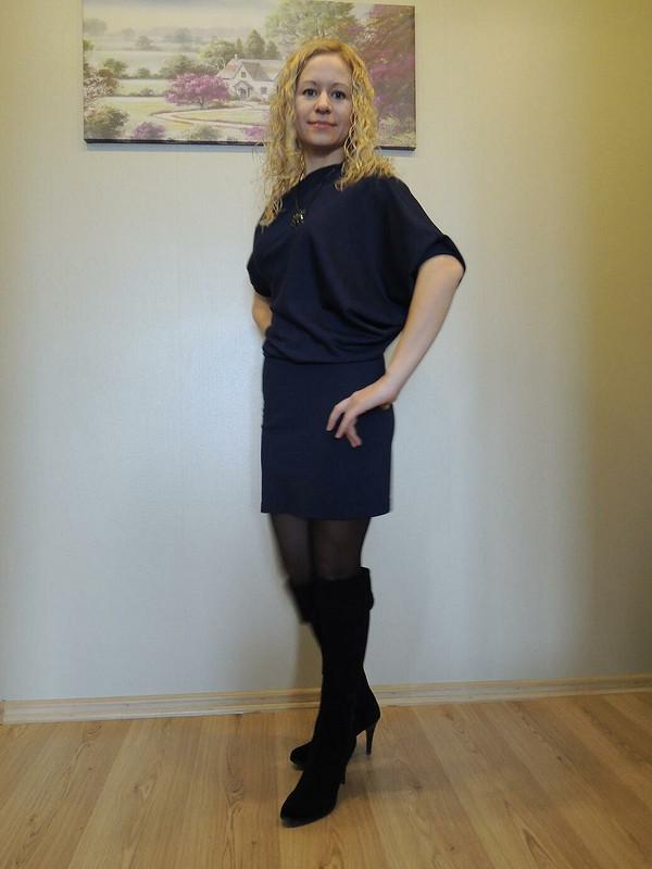 Моё «Перекошенное» платье от KreamBrule