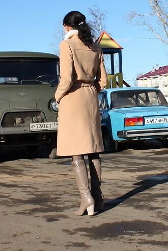 Любимое пальто от GDaRy