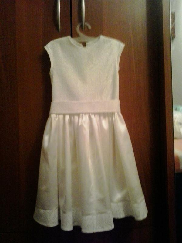 Платье а-ля снежинка