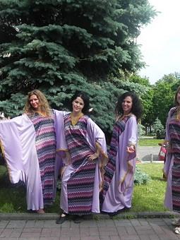 Работа с названием Абайя - 6 костюмов для конкурса