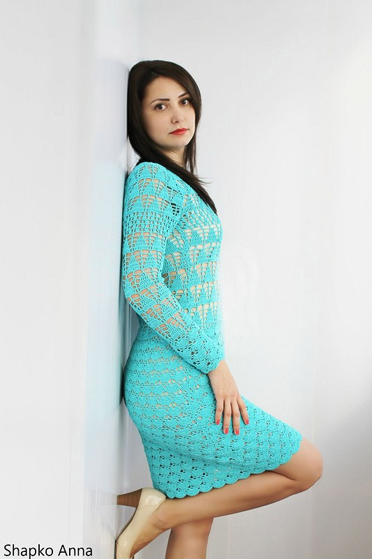 Платье помотивам Lilly Sarti