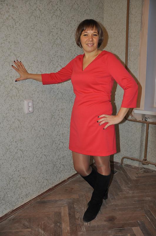 И снова она ... модель платья