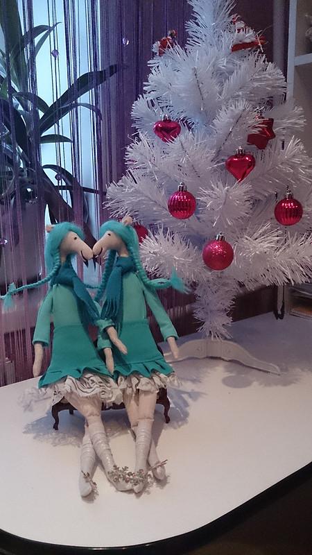 Мои новогодние сестрички