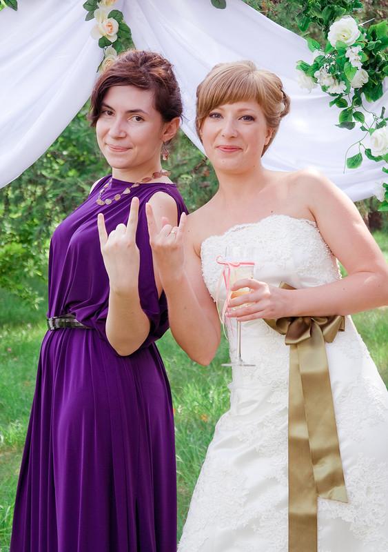 платье подружки невесты