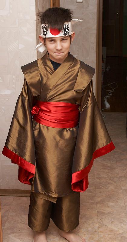 Японский костюм от Ольга Истомина