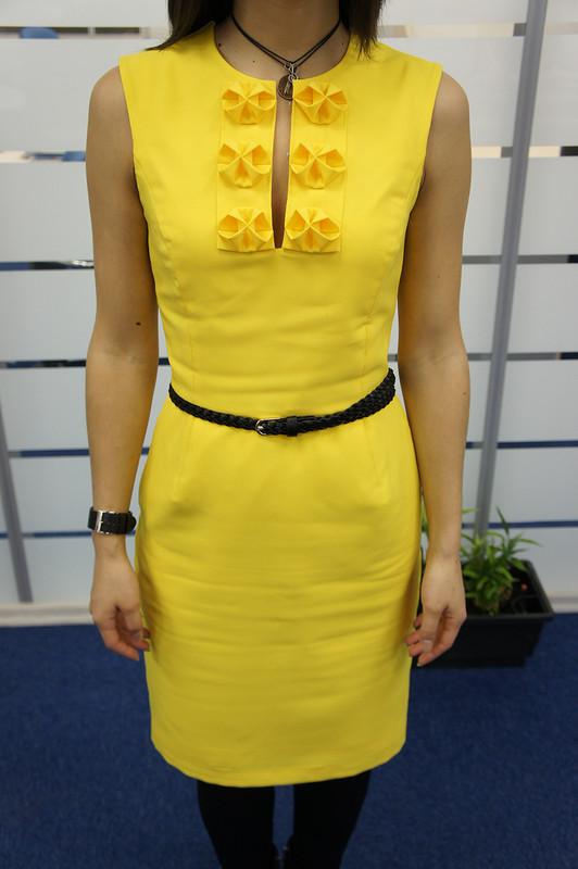 Лимонное платье наНовый Год =)