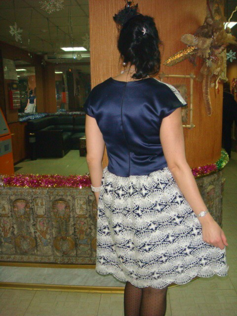 платье вечернее-корпоративное