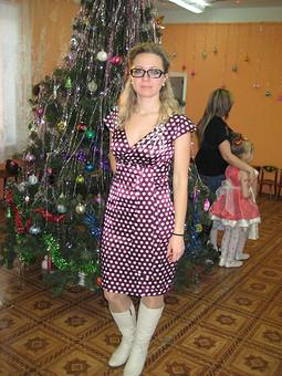 Работа с названием Моё первое платье.