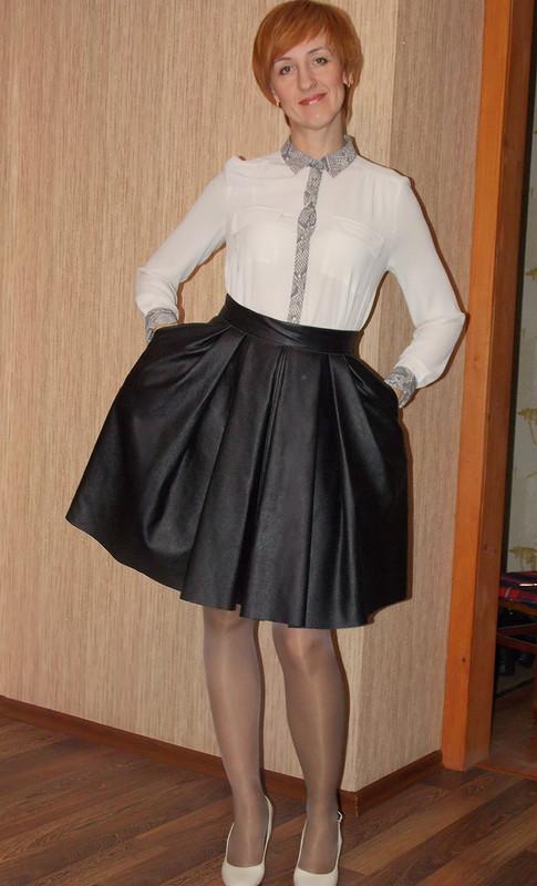 Кожанная юбка от TanyaKors