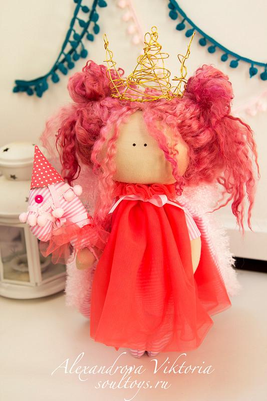 Текстильная куколка от ВикторияАлександрова