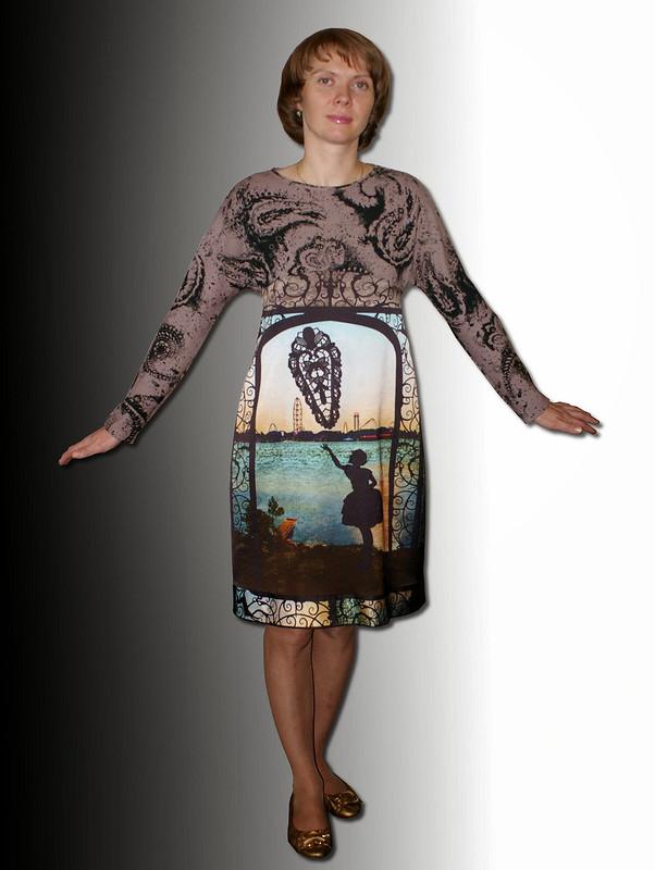 платье изкупона от Ejiki