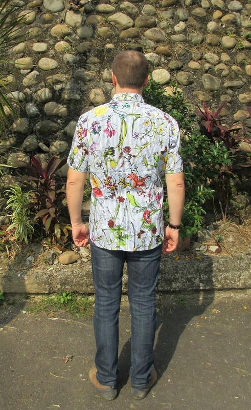 Цветочная рубашка 2 от Ejiki