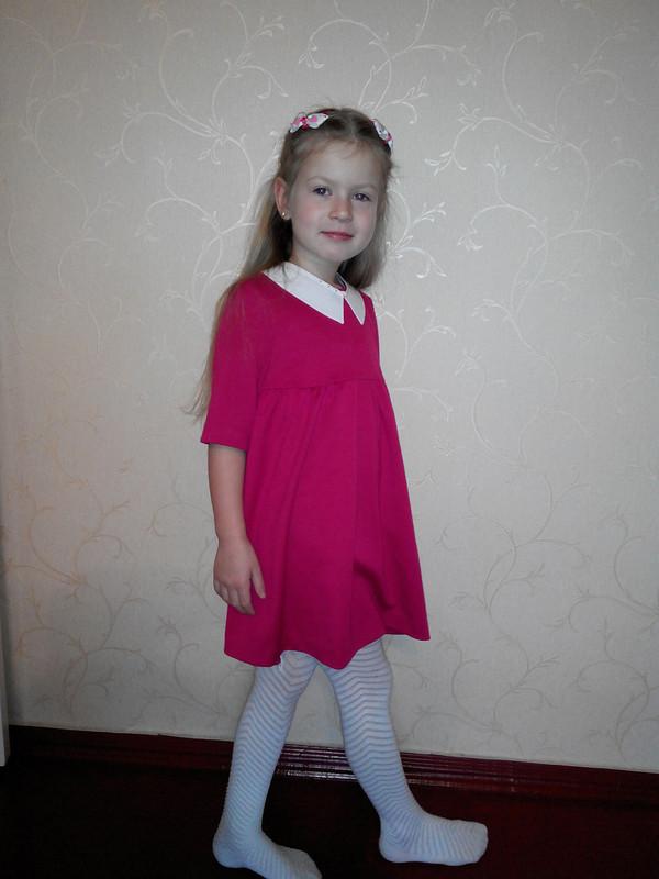 Малиновое платье от Inn