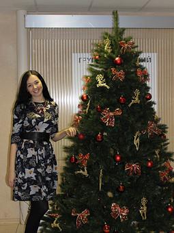 Работа с названием Платье новогоднее