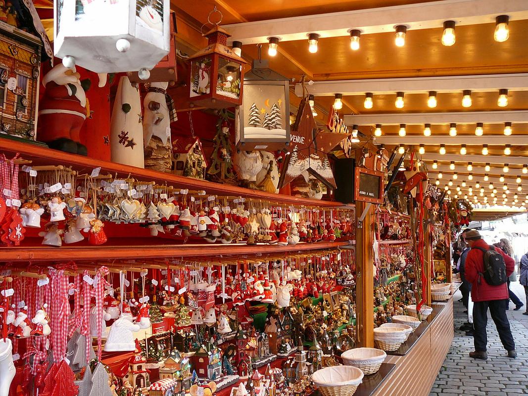 Рождество. Страсбург. Медом намазано)
