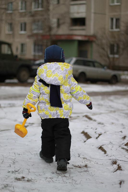 Зимняя куртка длямалыша от Delilla