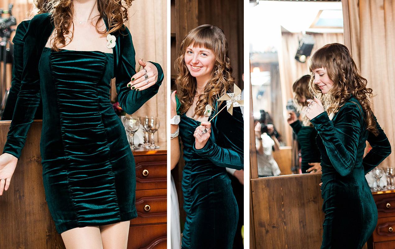 Платье извелюра от Marianna28