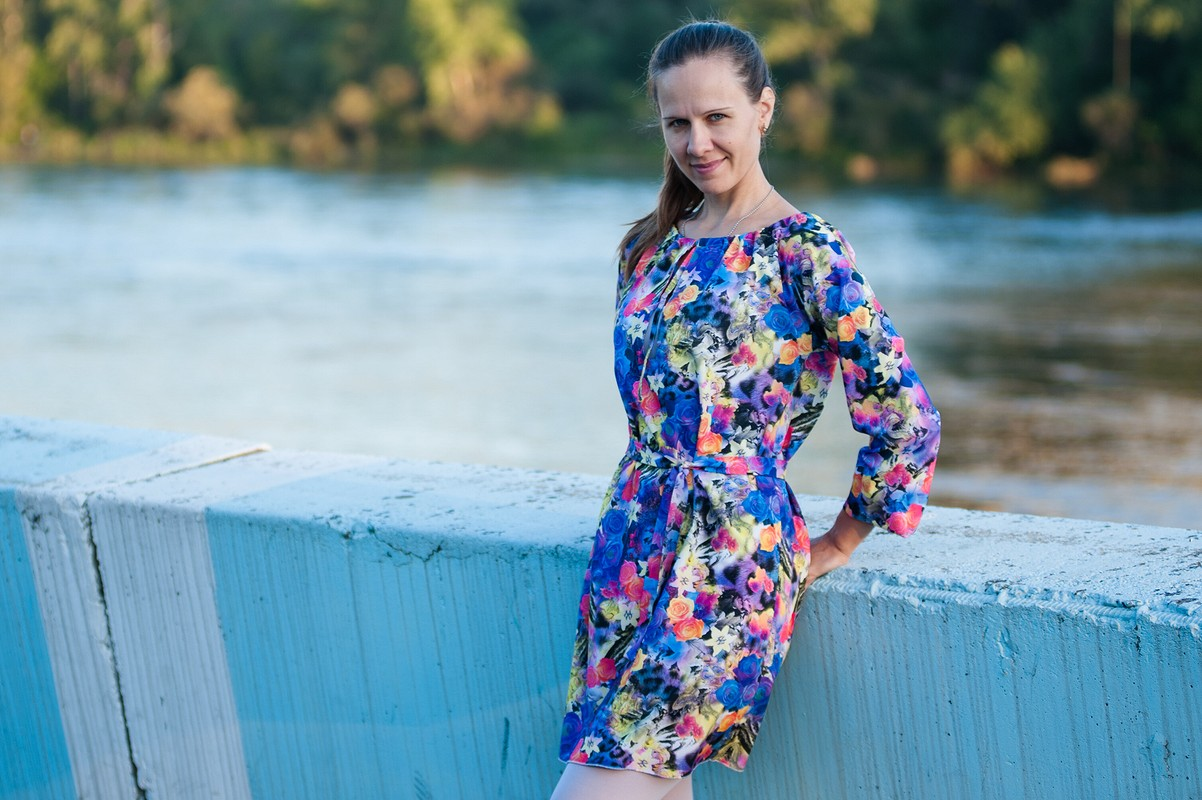 Летнее платье от Leontyeva Elena