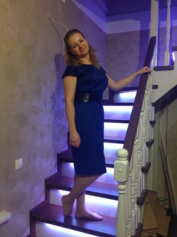 Простое платье но... от Светлана Мельник