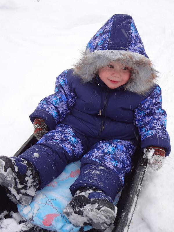 Зимний комбез от Galinka
