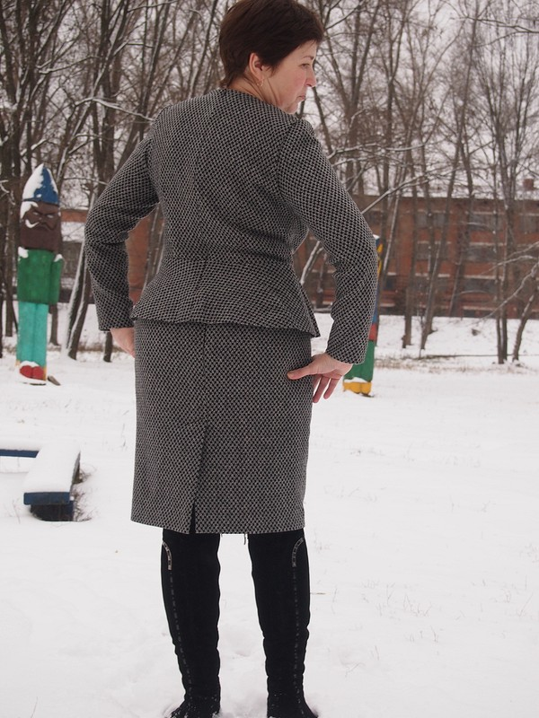 Костюм сбаской от kiraloginova