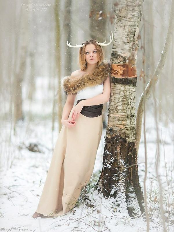 Очередное платье нафотосессию. от Alena Fateeva