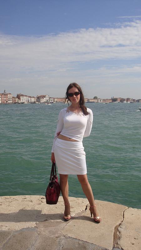 Любимая белая юбочка. от oreanda