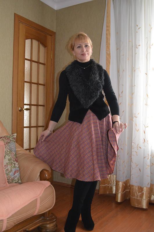 R - дляпостроения юбки солнце иполусолнце клёш . от Diana L