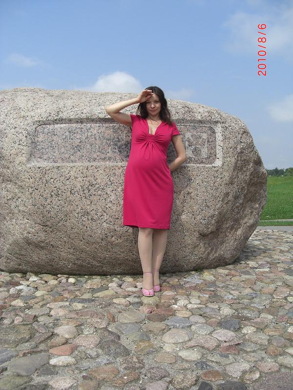Цикламеновое платье от Лентяйка