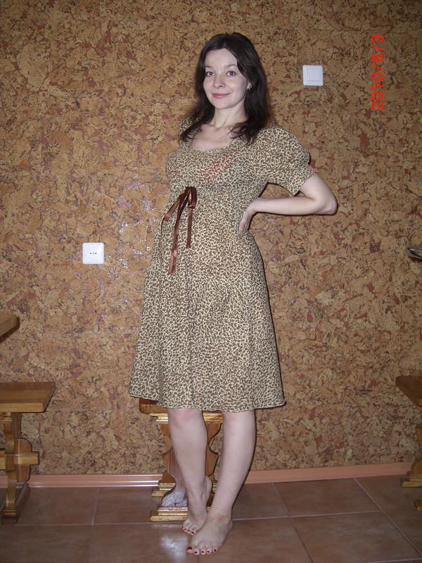 Платье встиле ампир от Лентяйка