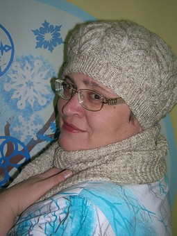 Работа с названием Эх, зимушка-Зима...или тепленький берет...