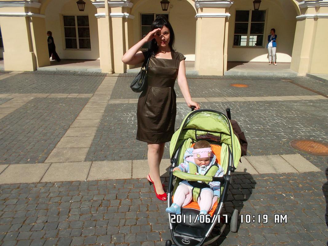 Коричневое платье от Лентяйка