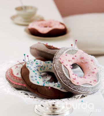 Пирожные «сиголочками»