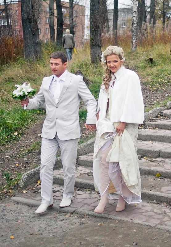 МЕХОВАЯ НАКИДКА к«Свадебному миксу»