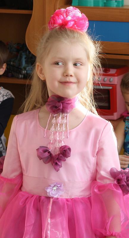платье цветок фиалки от baramunda24