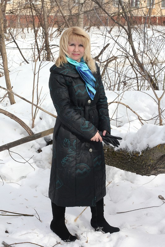 Пальто, утепленное шерстепоном от lara34