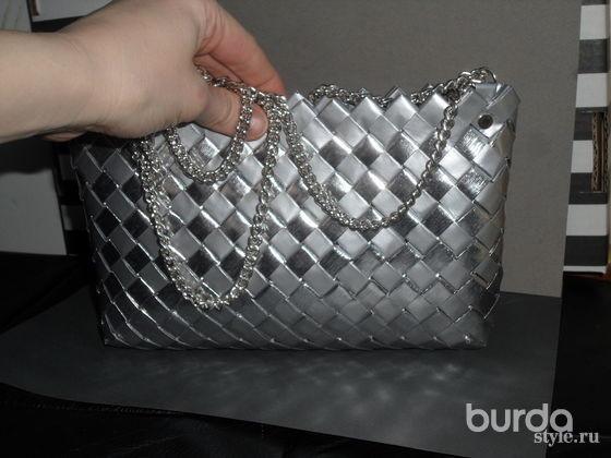 Стильная инеобычная сумочка своими руками