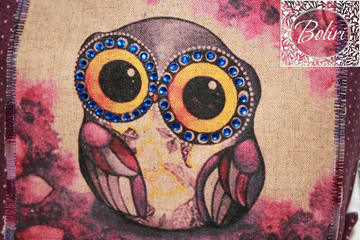 миниатюрная летняя сумочка «Волшебная сова»