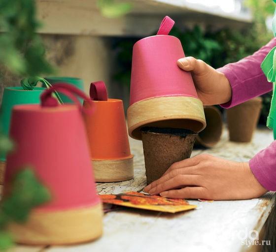 Как декорировать дачные аксессуары своими руками