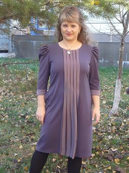 Работа с названием Платье для свиданий с Фемидой