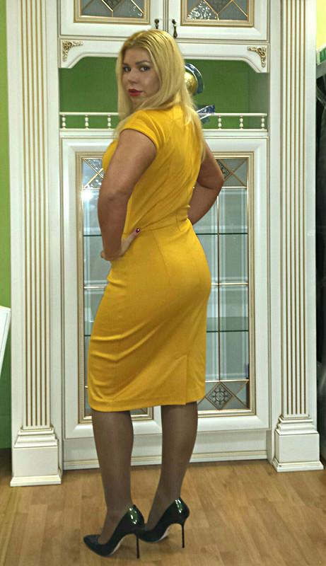 Платье трикотаж за1 день!