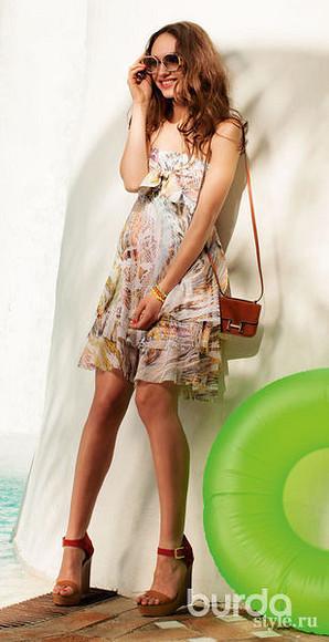 Модели коротких платьев