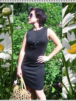 Работа с названием Подружка в новом платье