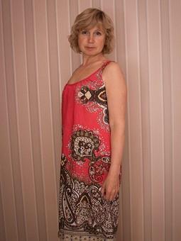 Работа с названием Платье летнее