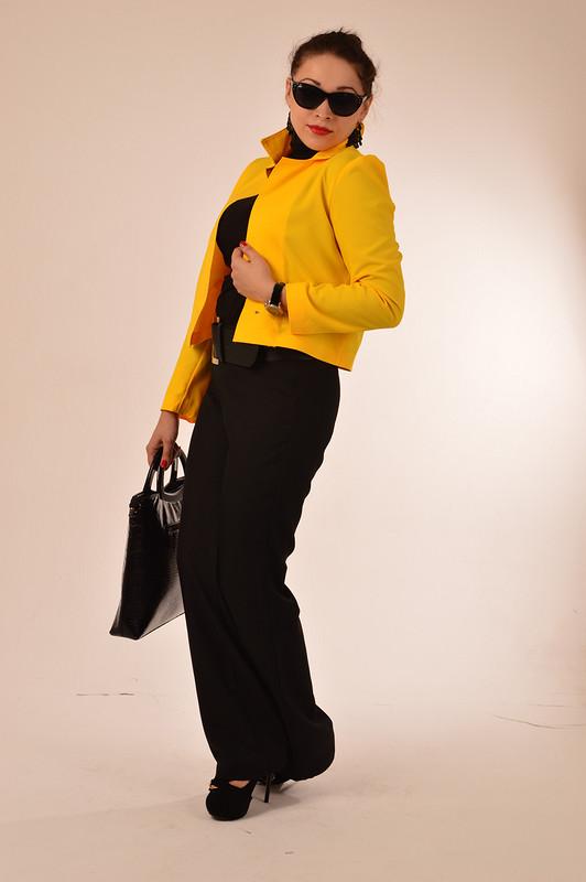 Желтый цвет - цвет солнца!