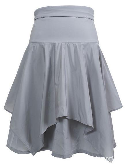Выкройка юбки дляполных